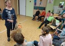 Setkání s  nevidomými ve škole